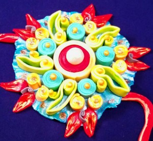 All edible rakhi,completed