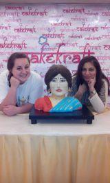 3DHuman figure cake with Lara Mason