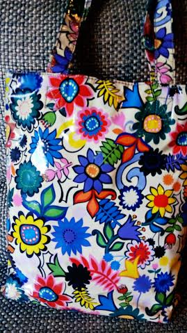 Motifs on a handbag