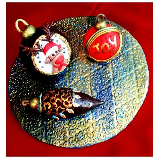 Christmas Baubles-About Edible Clay